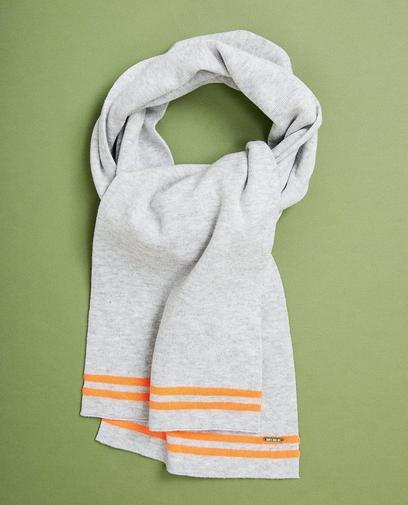 Lichtgrijze sjaal